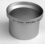 Adapter tube voor Canon A 5.. serie