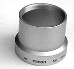 Adapter tube voor Canon A80 37mm